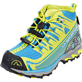 La Sportiva Falkon GTX Shoes Kids Blue/Sulphur